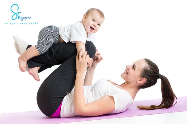 Cách để giảm mỡ bụng sau khi sinh cho các bà mẹ bận rộn.