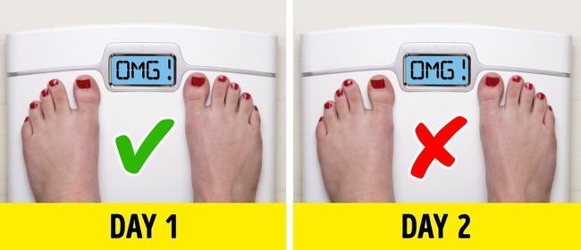 Những sai lầm khi khiến việc giảm cân không được như mong đợi