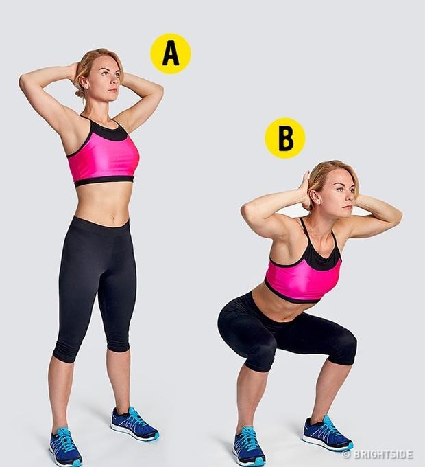 4 Phút với 5 dộng tác giúp bạn giữ áng dẹp